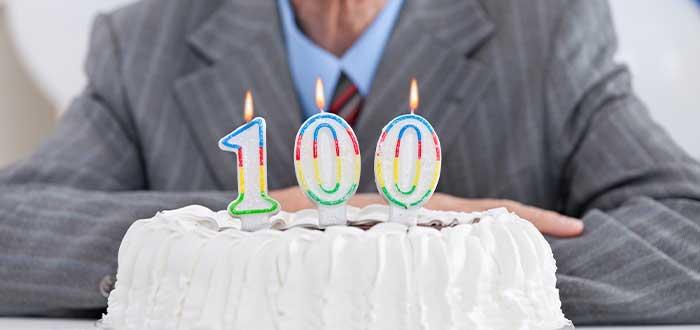 cumpleanos numero 100