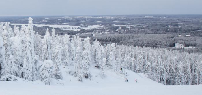 Curiosidades de Finlandia nieve