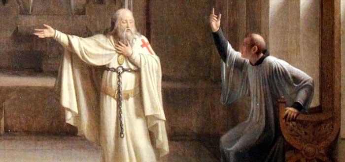 Caballeros Templarios   Jacques de Molay: el último Caballero Templario