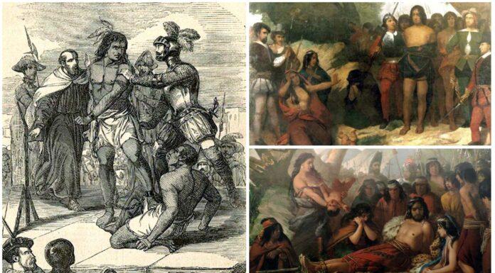 Quién fue Caupolicán | Empalado por los conquistadores españoles