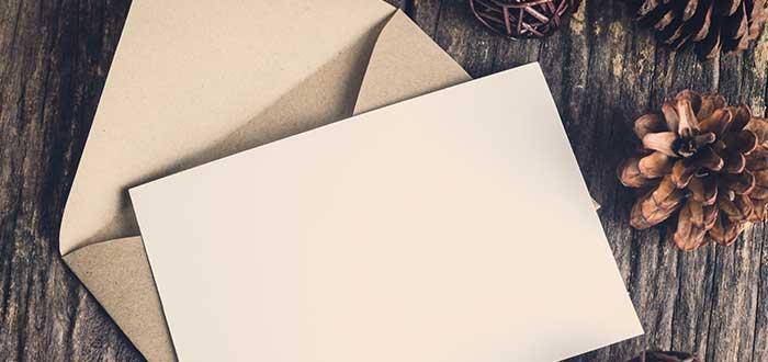El encanto de las cartas para tus seres queridos. 1