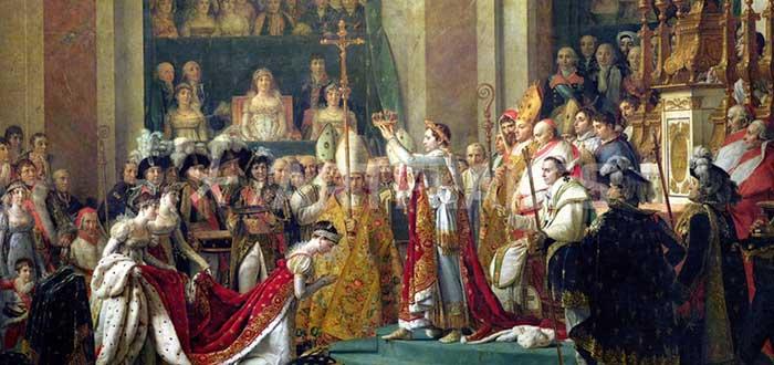 La Coronación de Napoleón. un fiel retrato de la realidad. 1