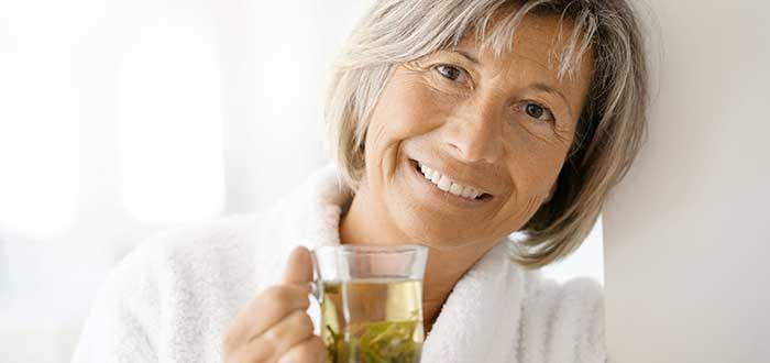 los beneficios del te verde. 2
