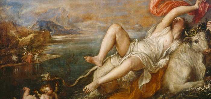 Mito de Europa | Raptada por Zeus y reina de Creta