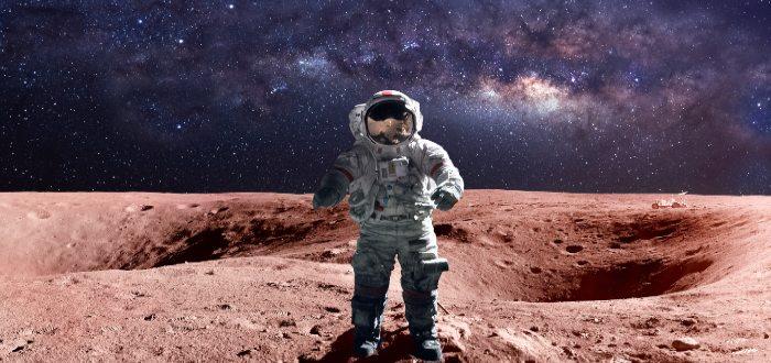 ¿Sabes cómo es la gravedad en Marte?