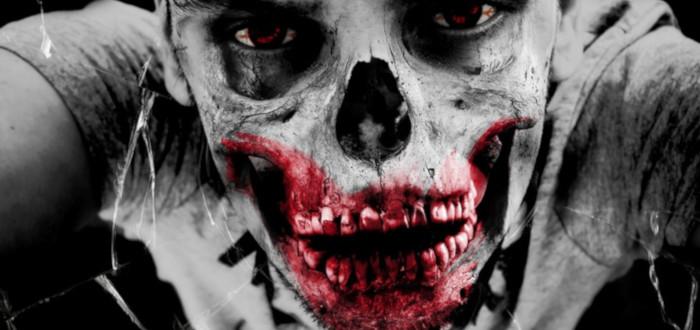 Apocalipsis Zombie calavera