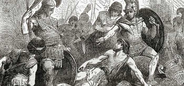 La leyenda de Codro, el último rey de Atenas   Se sacrificó para salvarla