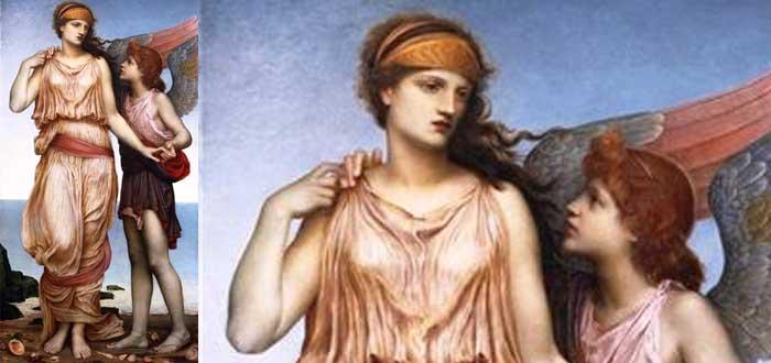 """""""Venus y Cupido"""" 1878"""