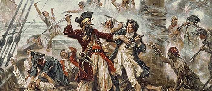leyenda del pirata barbanegra