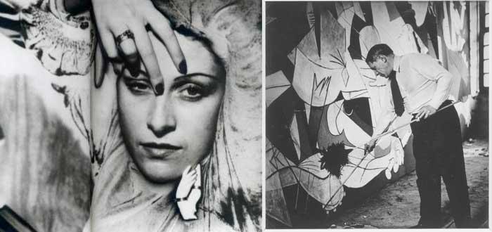 Picasso y el Guernica fotografiados
