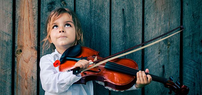 Efecto Mozart en niños