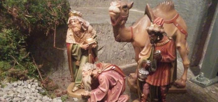 Papá Noel y los Reyes Magos Figuras
