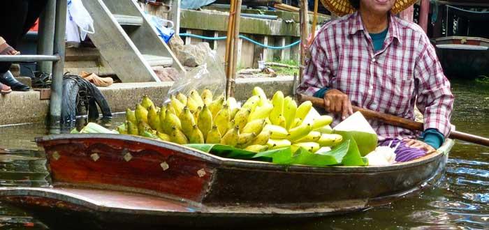 barco de plátanos