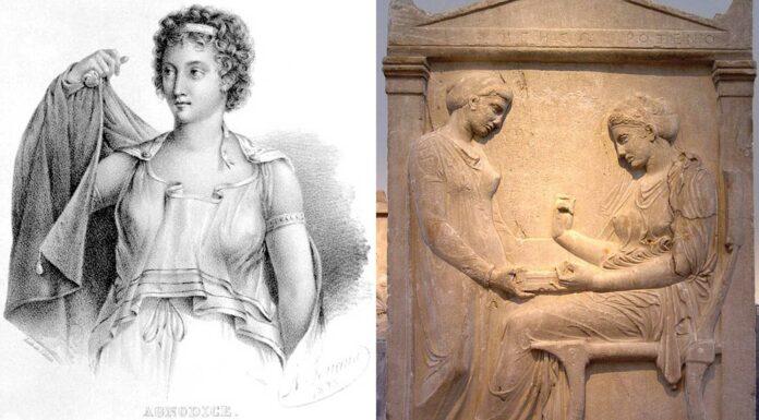 Quién fue Hagnódica de Atenas | La médica que se hizo pasar por hombre