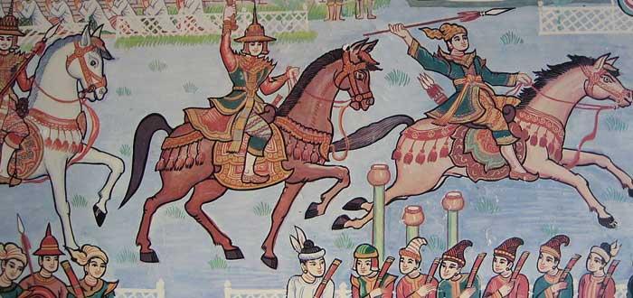 Cortesanos del imperio Pagan