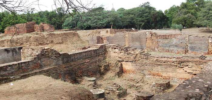 ruinas del palacio del Imperio Pagan