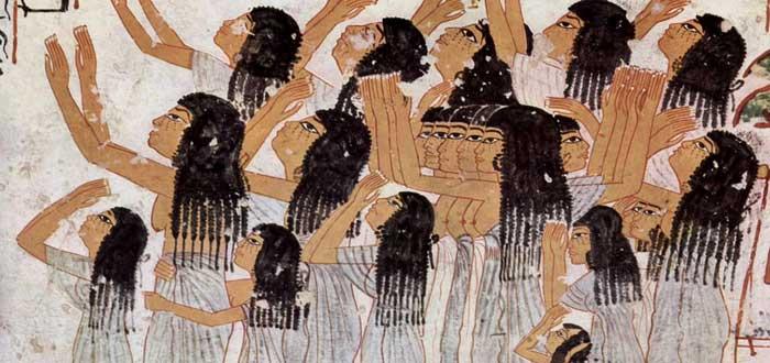 lloronas Antiguo Egipto