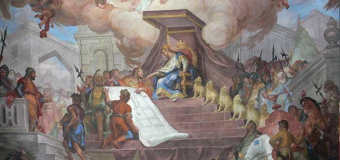 trono de salomón