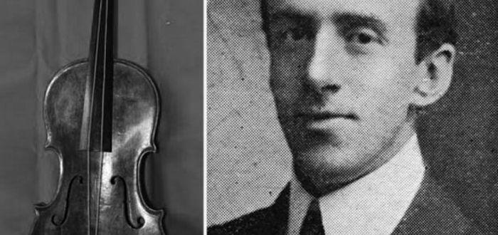 La Orquesta y los Músicos del Titanic. Leyenda y verdad. El violín del director