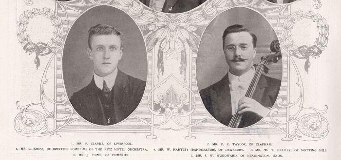 La Orquesta y los Músicos del Titanic. Leyenda y verdad