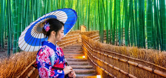 Leyendas japonesas. El cortador del bambú y la princesa de la luna