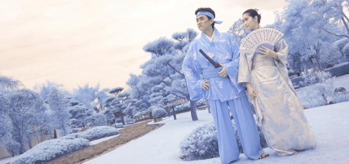 Leyendas japonesas. Leyenda japonesa de la creación del mundo
