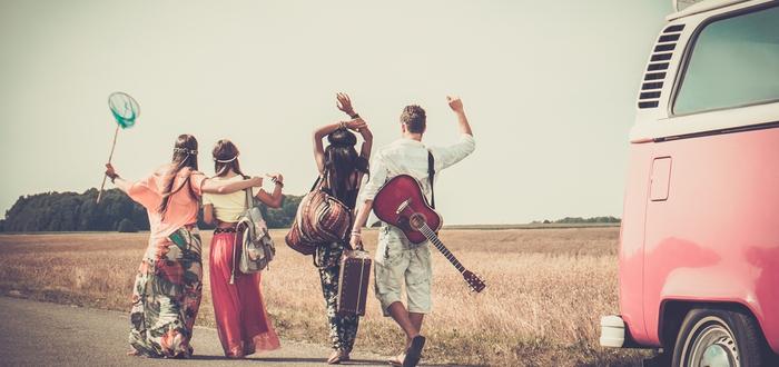 Tribus Urbanas Hippies, Origen de los hippies