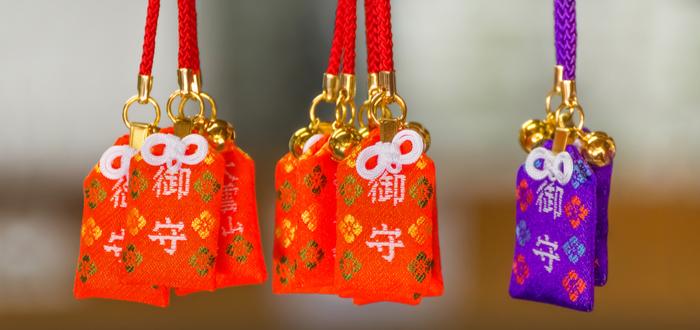 Símbolos Japoneses. Los amuletos de la mitología japonesa. Omamori