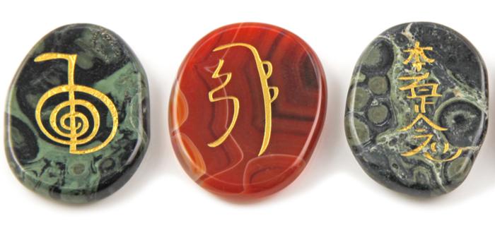 Símbolos Japoneses. Los amuletos de la mitología japonesa. Reiki