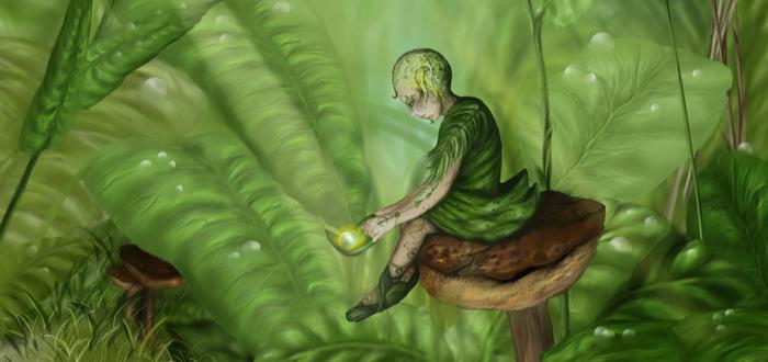 10 Mitos Nórdicos. El Pueblo del Musgo, Los espíritus del bosque