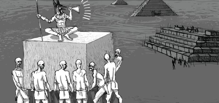 Construcción de las Pirámides Egipto