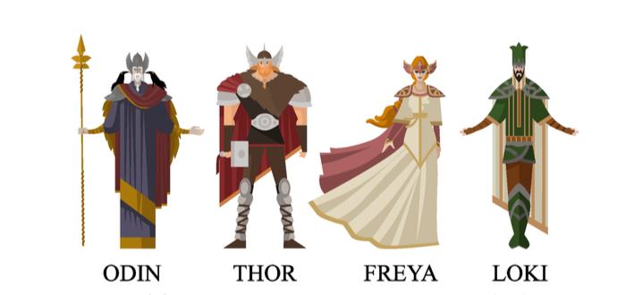 Freya. Diosa de la belleza y la guerra en la mitología nórdica