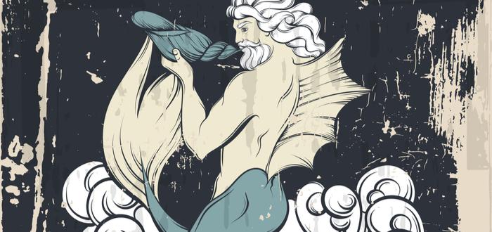 Las sirenas en la mitología griega. Los tritones
