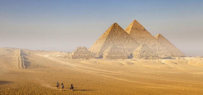 Origen de las pirámides de Egipto