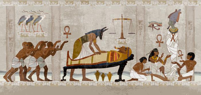 Para qué se construyeron las pirámides de Egipto