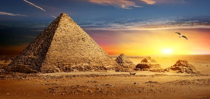 Pirámides egipcias por dentro