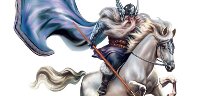 Quién fue Odín, dios nórdico de la sabiduría y la guerra.
