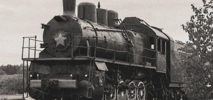 Inventos de la Revolución Industrial. Línea ferroviaria