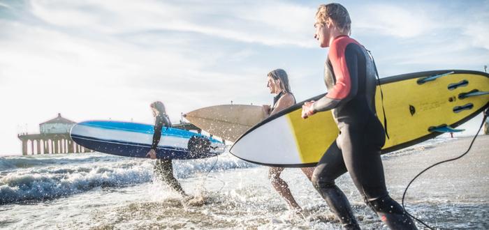 Que hay detrás o cómo es el estilo de vida surfero..
