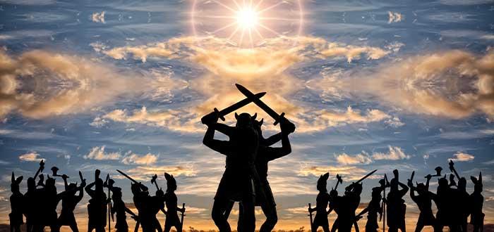 guerra de dioses
