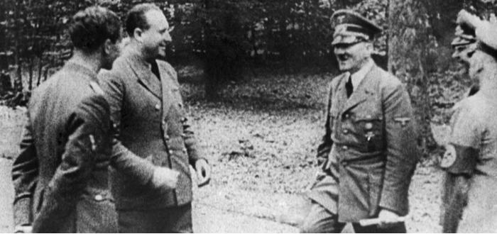 Curiosidades de Hitler, no le gustaban que lo vieran desnudo