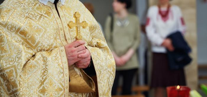 vestimenta del Papa.