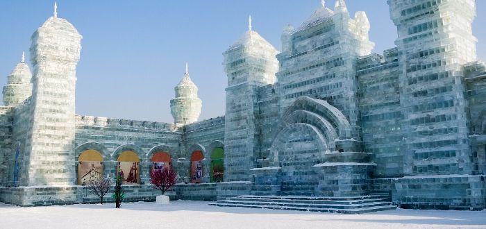 ciudad de hielo china