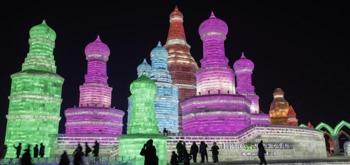 festival de hielo en China