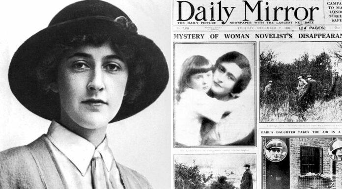 La desaparición de Agatha Christie en la vida real