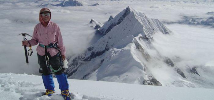 Junko Tabei, la primera mujer en escalar el Everest