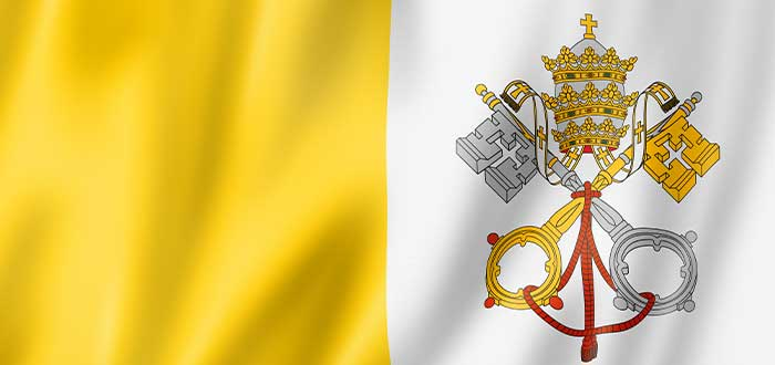 curiosidades de la bandera del vaticano