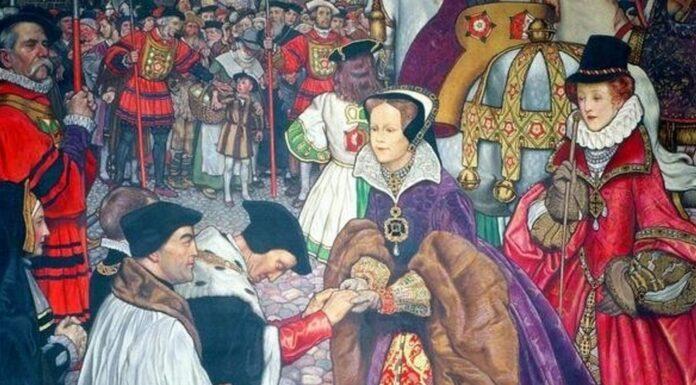 ¿Cómo murió María Tudor?   La muerte de la reina sangrienta