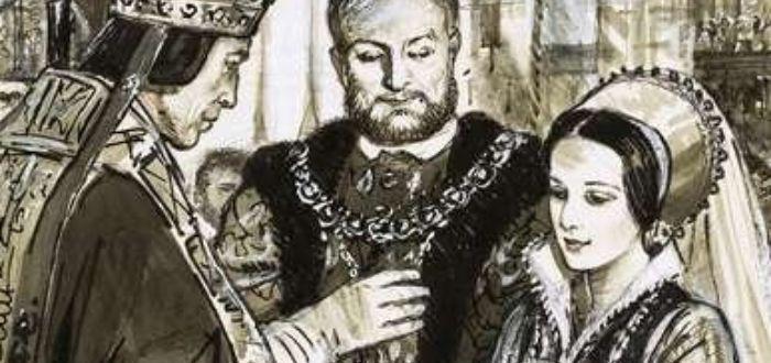 matrimonio entre Ana Bolena y Enrique