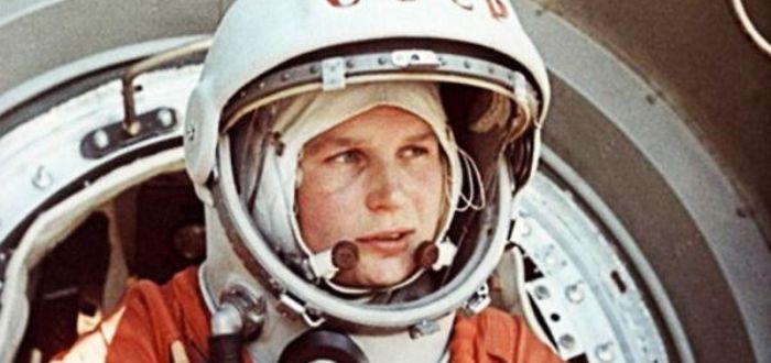 La primera mujer en el espacio